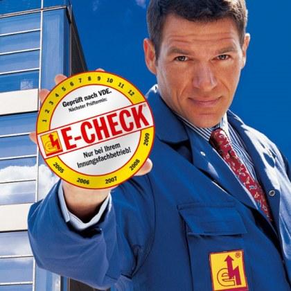 Machen Sie den E-Check!